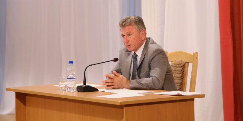 Виктор Мельников провел расширенное заседание коллегии администрации Волгодонска с участием делового сообщества города