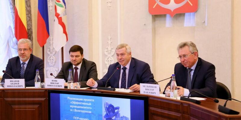 В центре внимания – развитие сети автомобильных дорог в Волгодонске и прилегающих территориях