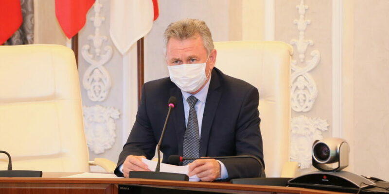 Виктор Мельников: крайне важно соблюдать масочный режим, локализовать распространение вируса и минимизировать возможность его завоза в город