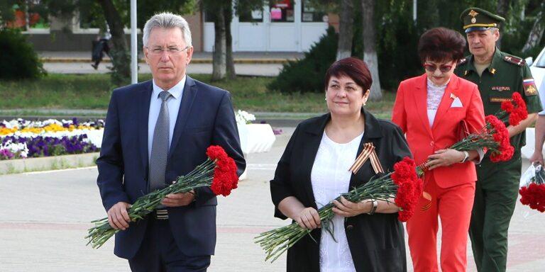 Волгодонск отмечает День памяти и скорби: 22 июня 79 лет назад началась Великая Отечественная война