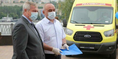 Больницы Волгодонска получают четыре новых реанимобиля