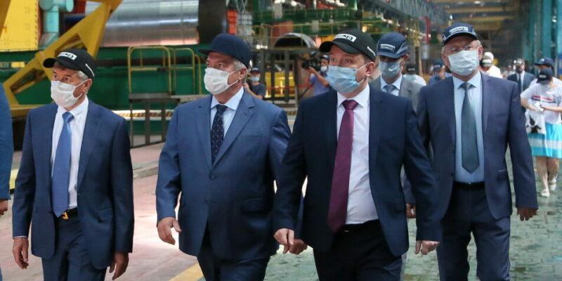 Губернатор Ростовской области Василий Голубев посетил с рабочим визитом Волгодонск