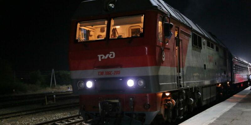 Со станции Волгодонская отправился долгожданный пассажирский поезд в сторону Москвы и Санкт-Петербурга