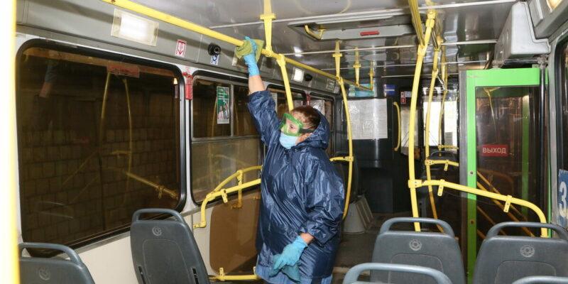 МУП ГПТ: дезинфекция городского пассажирского транспорта в Волгодонске проводится каждый день