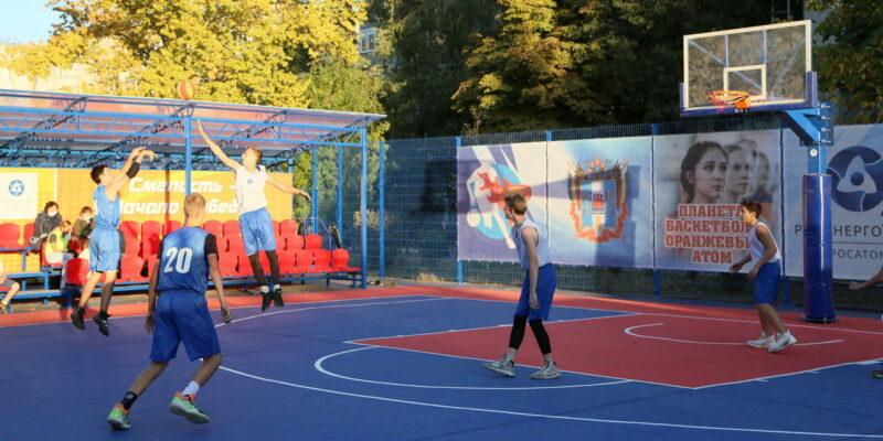 «Планета баскетбола «Оранжевый атом» – для городов-спутников АЭС: в Волгодонске открыли баскетбольный стадион