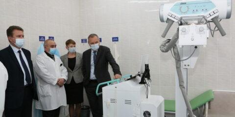 В БСМП появился мобильный рентген-аппарат – подарок Ростовской АЭС