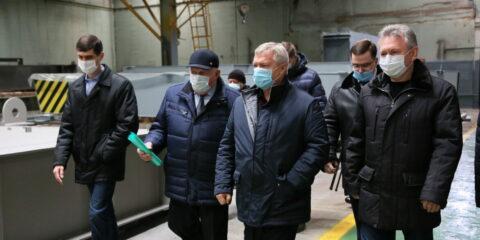 Волгодонск с рабочим визитом посетил губернатор Ростовской области