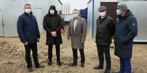 Виктор Мельников: Центр единоборств должен быть построен в срок
