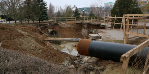 Область выделяет Волгодонску 187 миллионов рублей на перекладку сетей аварийного коллектора