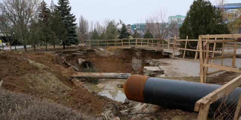 Тамара Радыгина: Водоканал приступил к ремонту аварийного коллектора в новой части города
