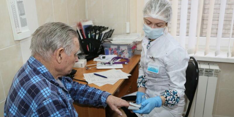 Выездная прививочная бригада провела вакцинацию в ЦСО№1