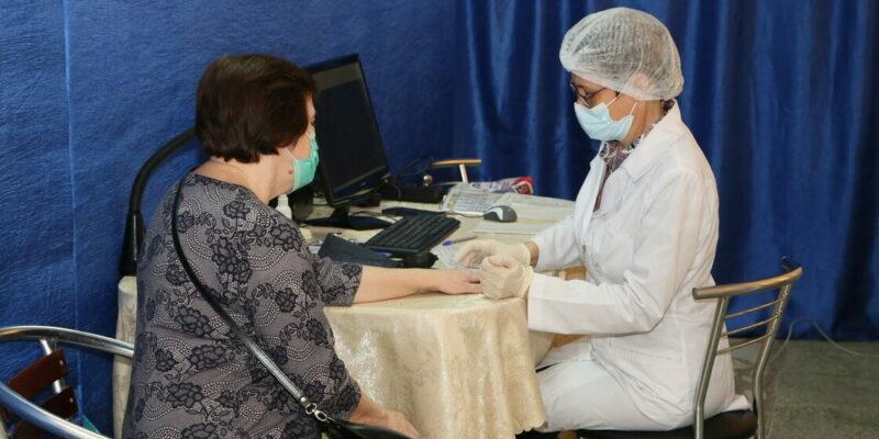 В Волгодонске начал работу пункт вакцинации во дворце культуры имени Курчатова