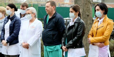 «Спасибо врачам!»: год назад инфекционный госпиталь Волгодонска принял первого пациента