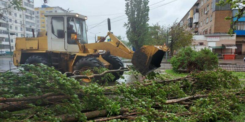 Коммунальщики оперативно ликвидируют последствия непогоды в Волгодонске