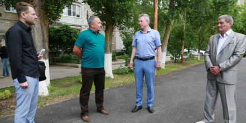 Атоммаш поможет обустроить новую спортивную площадку на улице Молодежной