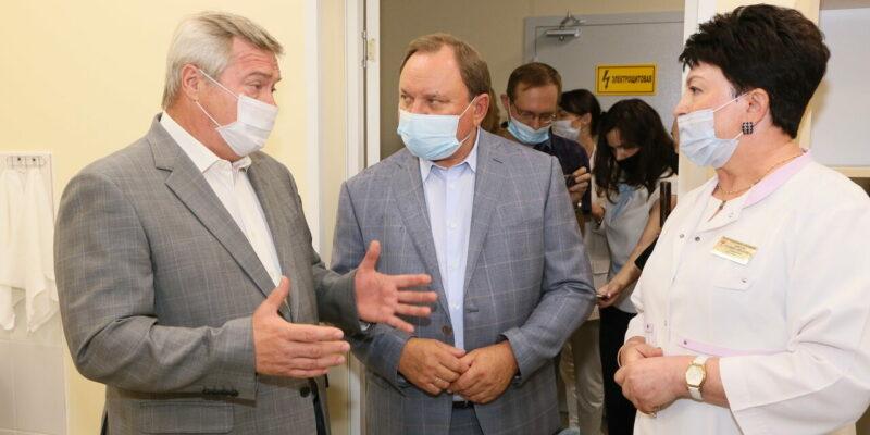 В Волгодонске с рабочим визитом побывал губернатор Ростовской области Василий Голубев
