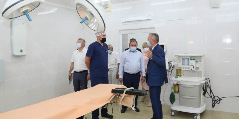 В больнице скорой медицинской помощи после ремонта открылось отделение хирургии