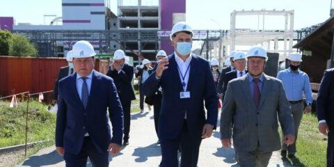 Губернатор Ростовской области побывал на стройплощадке завода «ДонБиоТех»