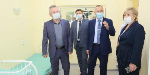 В Детской городской больнице после ремонта открылось отделение патологии новорожденных