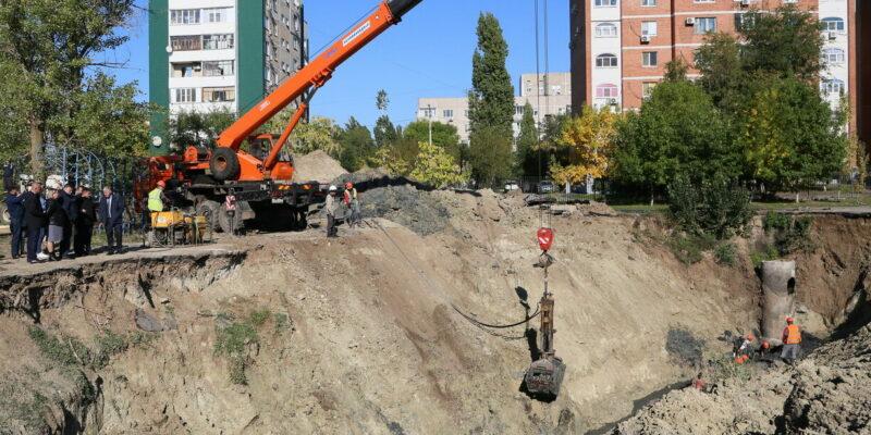 Сергей Макаров: Работы по замене коллектора необходимо завершить до середины декабря
